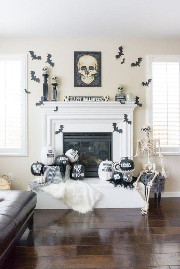 Die schönsten Ideen für Ihre gruselige Halloween Deko im ...