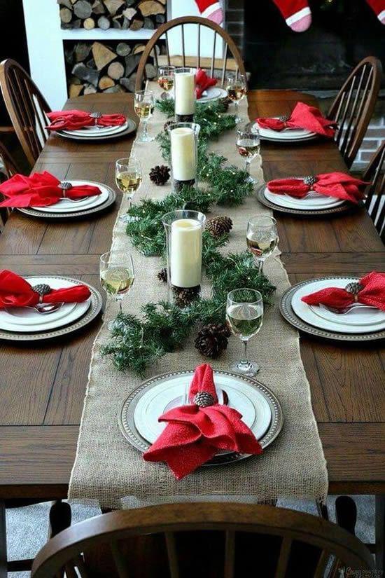 Festliche Tischdeko Ideen für ein gemütliches ...
