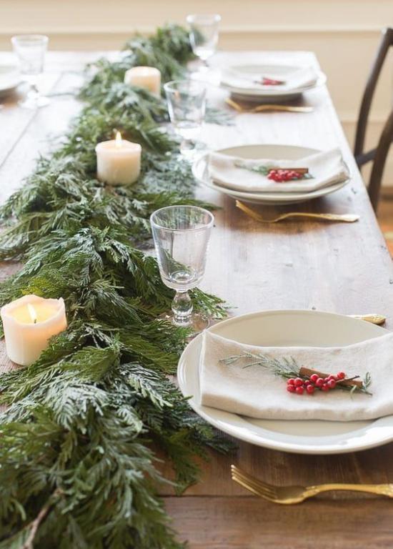 Festliche Tischdeko Ideen zu Weihnachten