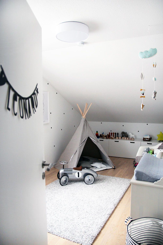 Babyzimmer Mit Dachschrage Einrichten Und Dekorieren Trendomat Com