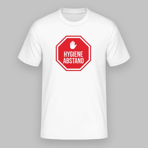 T-Shirt selbst gestalten in Zeiten der Corona Stellung nehmen Hände waschen Abstand halten