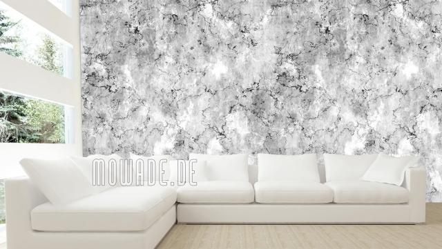 Design Tapeten in Grau in Marmoroptik sehr beeindruckend trendy individuell